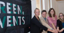 Das Green Events-Projekt feiert Geburtstag!